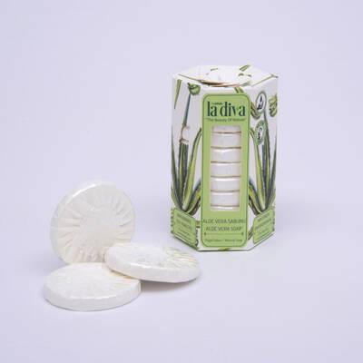 LaDiva - Aç-Yıka Paket Tekli Sabunlar Serisi Aloe Vera 10x15 Gram (1)