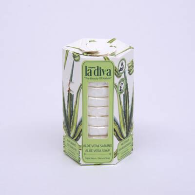 LaDiva - Aç-Yıka Paket Tekli Sabunlar Serisi Aloe Vera 10x15 Gram