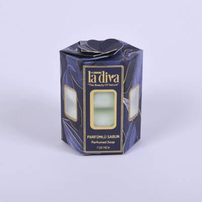 LaDiva - Erkek Parfümlü Sabun 4X45 Gr