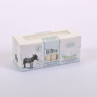 LaDiva - Eşek Sütlü Sabun 10X22.5 Gr.