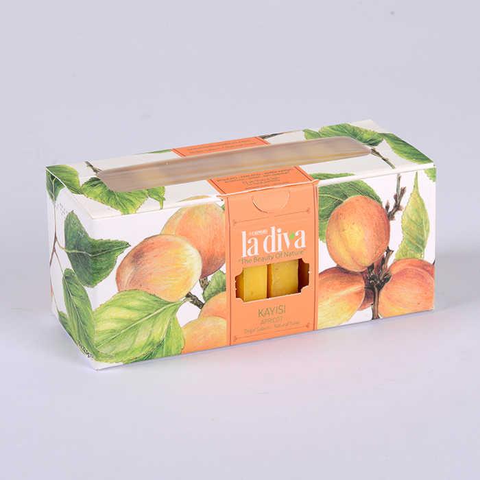 LaDiva Butik Kayısılı Sabun 10x22,5 Gr.
