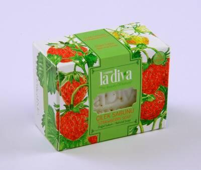 LaDiva - Ladiva Çilek Sabunu 120 Gr