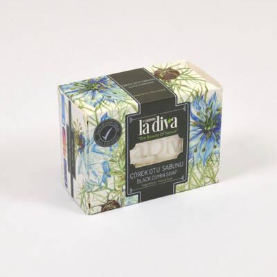 LaDiva - LaDiva Çörekotlu Sabun 155 Gr