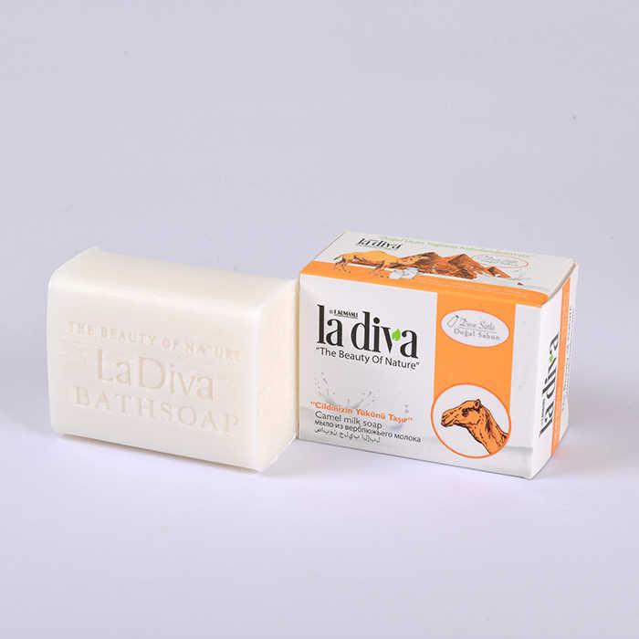 LaDiva Deve Sütlü Doğal Sabun 155 Gr.