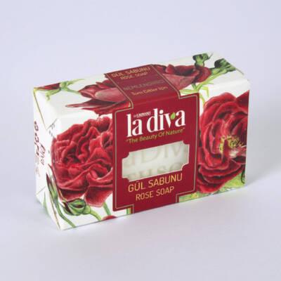 LaDiva - LaDiva Gül Sabunu 100 Gr
