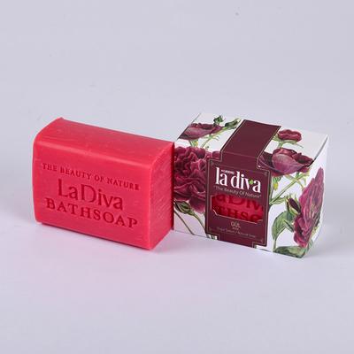 LaDiva - LaDiva Gül Yapraklı Sabun 155 Gr (1)