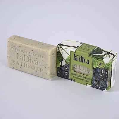 LaDiva - LaDiva Siyah Üzümlü Sabun 100 Gr (1)