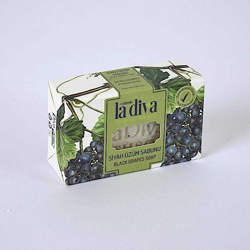 LaDiva Siyah Üzümlü Sabun 100 Gr