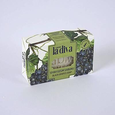 LaDiva Siyah Üzümlü Sabun 100 Gr - Thumbnail