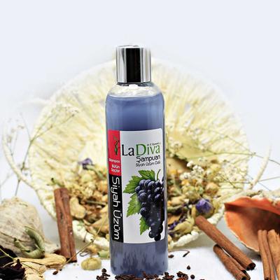 LaDiva - LaDiva Siyah Üzümlü Şampuan