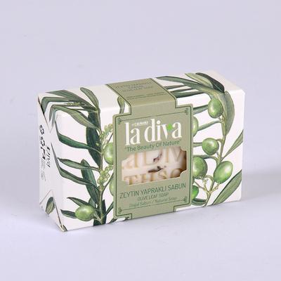 LaDiva Zeytin Yapraklı Sabun 100 Gr - Thumbnail