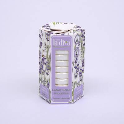 LaDiva - Aç-Yıka Paket Tekli Sabunlar Serisi Lavanta 10x15 Gram