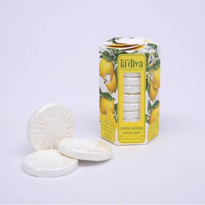 LaDiva - Aç-Yıka Paket Tekli Sabunlar Serisi Limon 10x15 Gram (1)