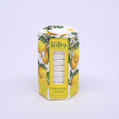 LaDiva - Aç-Yıka Paket Tekli Sabunlar Serisi Limon 10x15 Gram